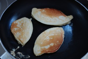 Pancakes using old baking powder